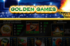 Golden Games Slot